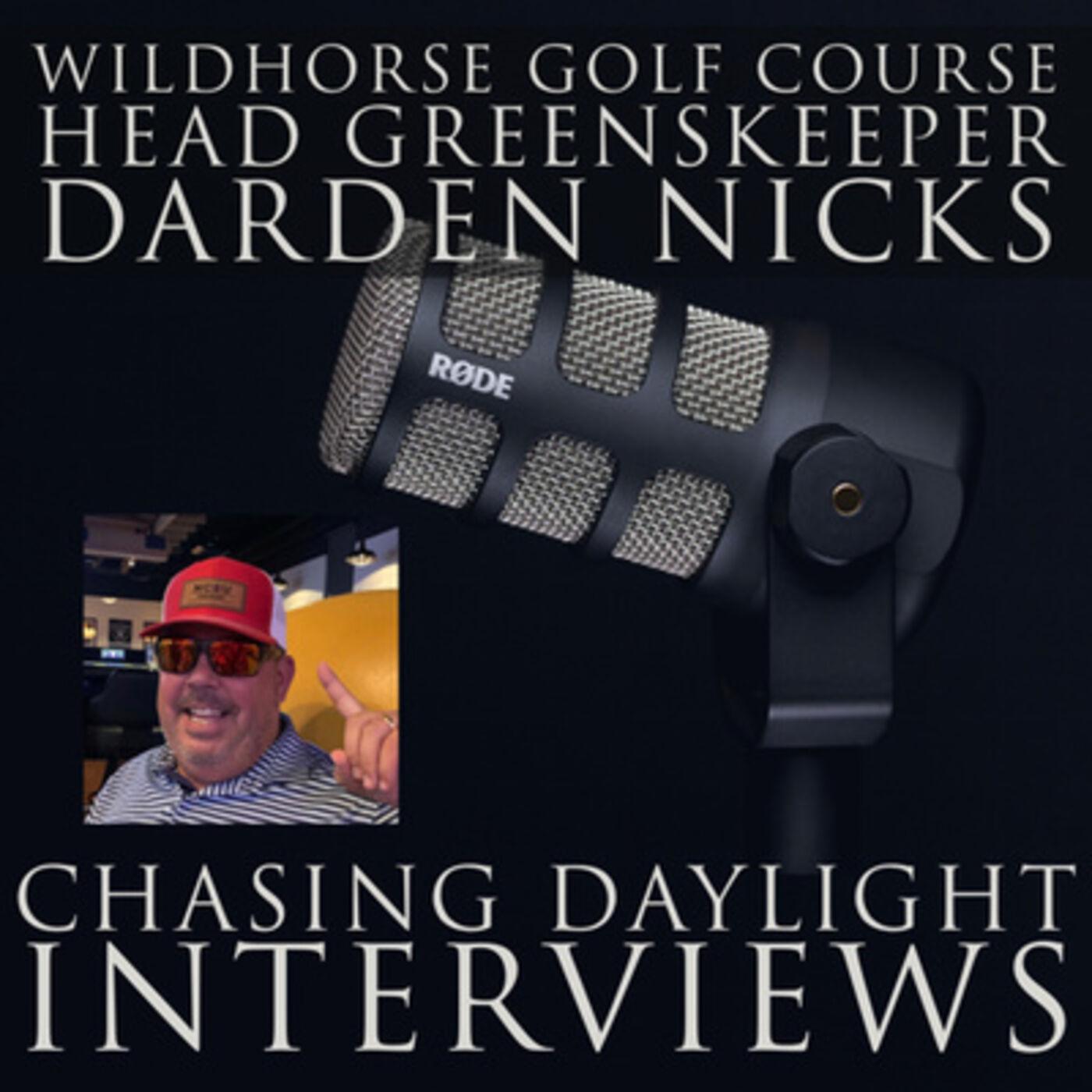 E117: Darden Nicks, Director of Agronomy at Wildhorse GC