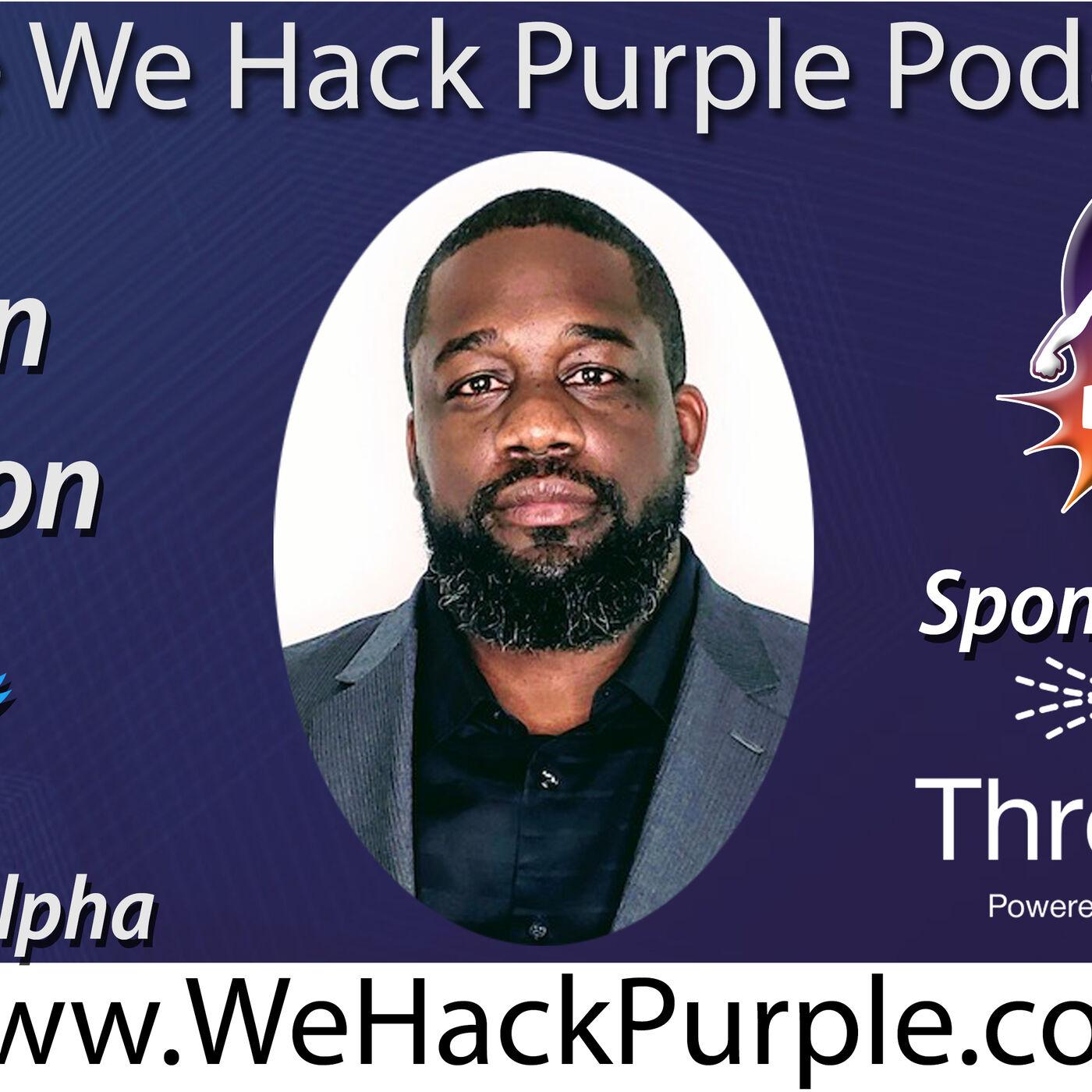We Hack Purple Podcast 27 with Davin Jackson