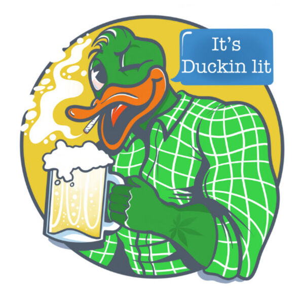 It's Duckin Lit Podcast Artwork Image