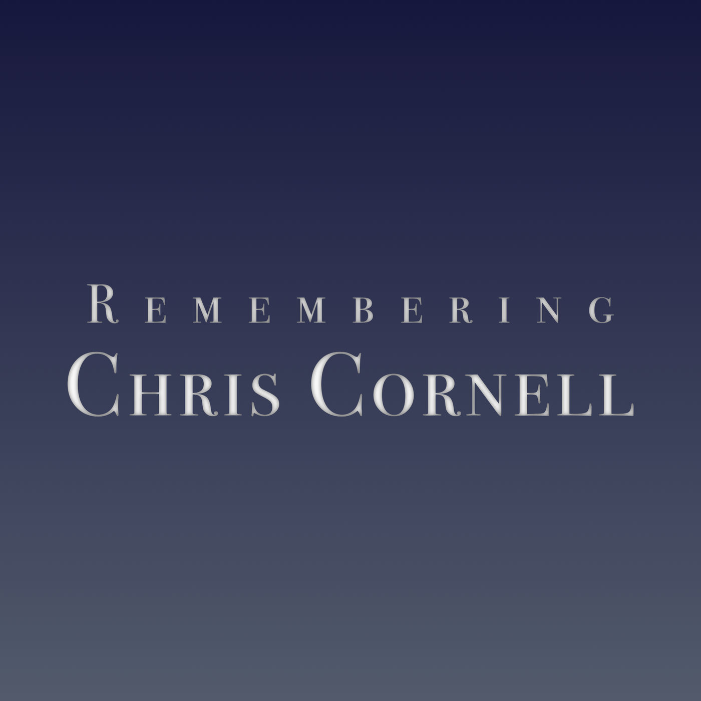 2017 4/12: Remembering Chris Cornell