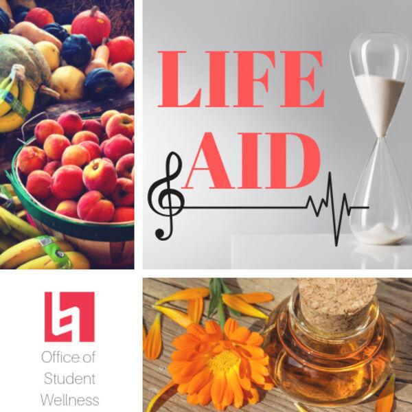 Life Aid Podcast Artwork Image