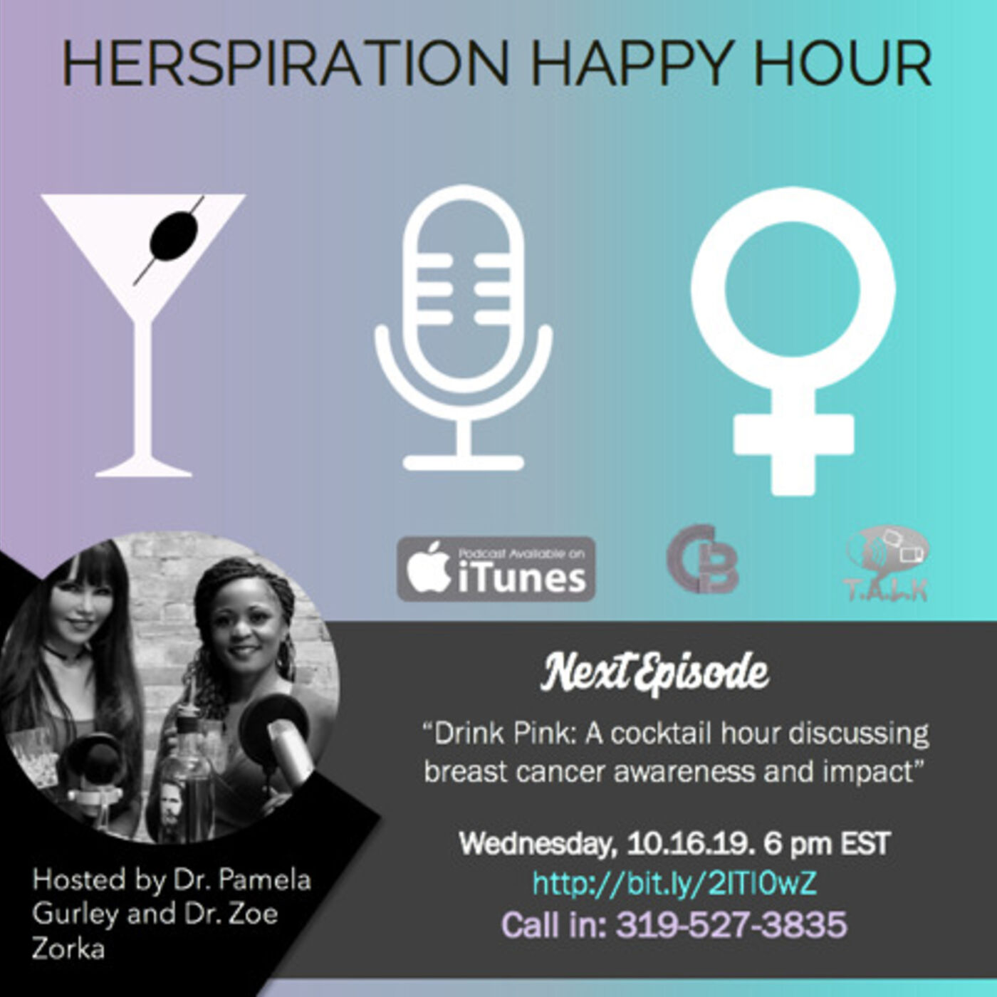 Herspiration Happy Hour Episode 34 (Season TWO): Breast Cancer Awareness
