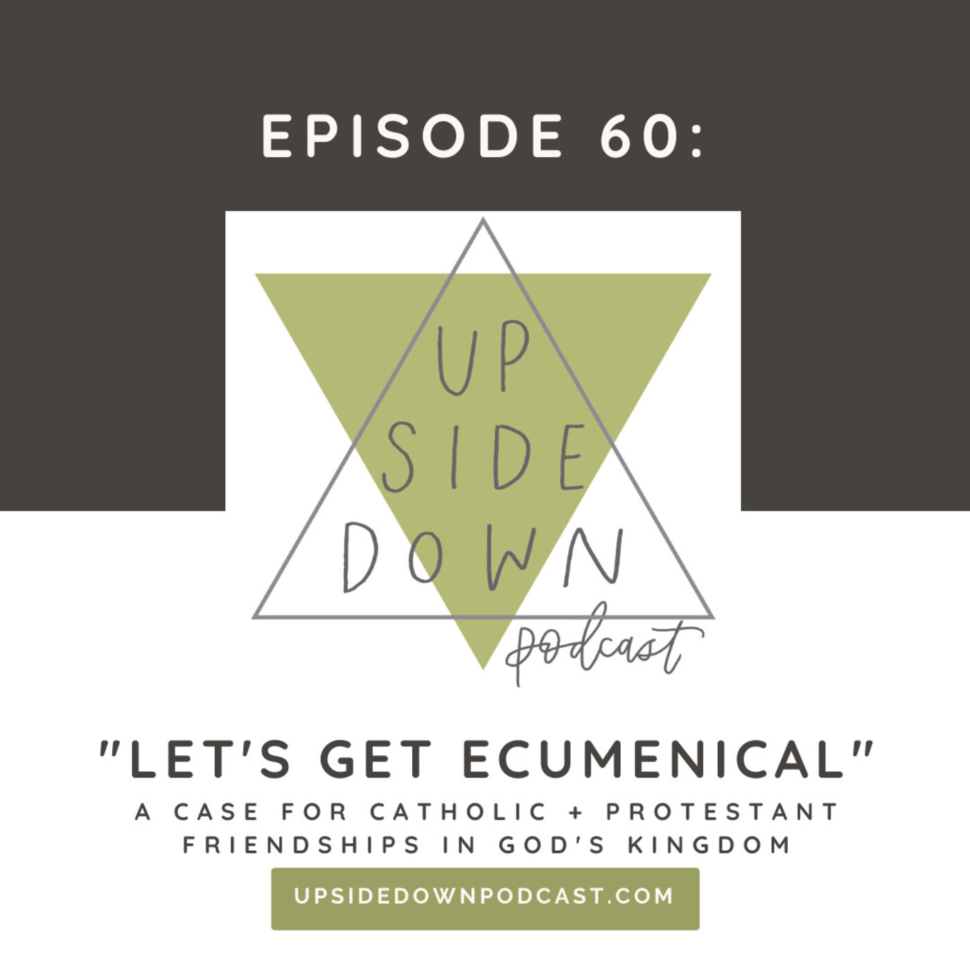 Episode 60 - Let's Get Ecumenical! Catholic & Protestant Thought in God's Kingdom (New Audio!)