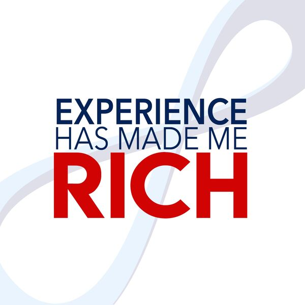 Experience Has Made Me Rich Podcast Artwork Image