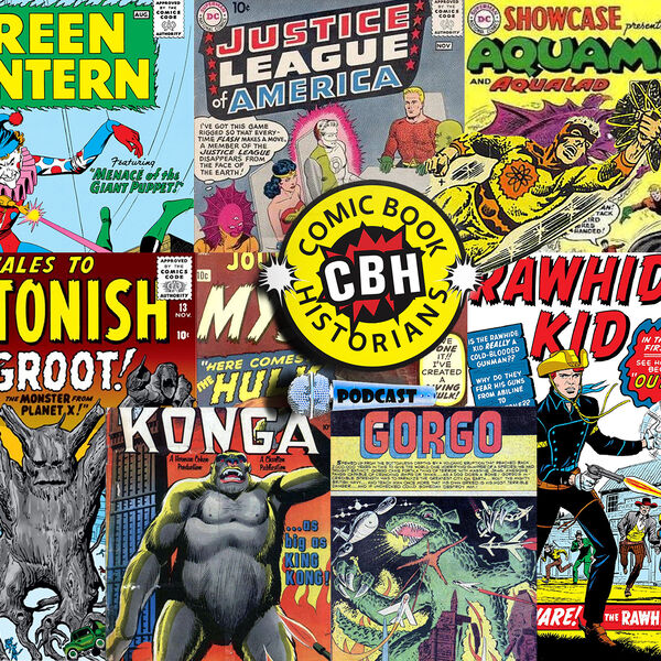 Comic Book Historians Podcast Artwork Image