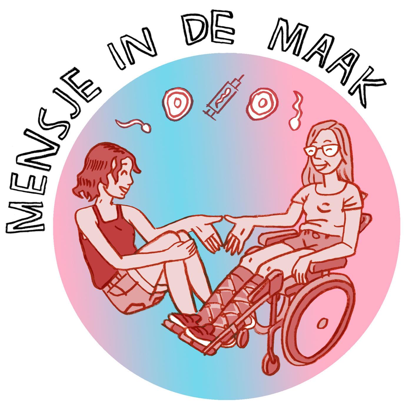 Mensje in de Maak logo