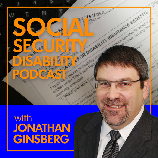 Social Security Disability Law Podcast Podcast Artwork Image