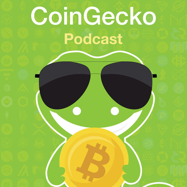 CoinGecko Podcast - Bitcoin & Cryptocurrency Insights Podcast Artwork Image