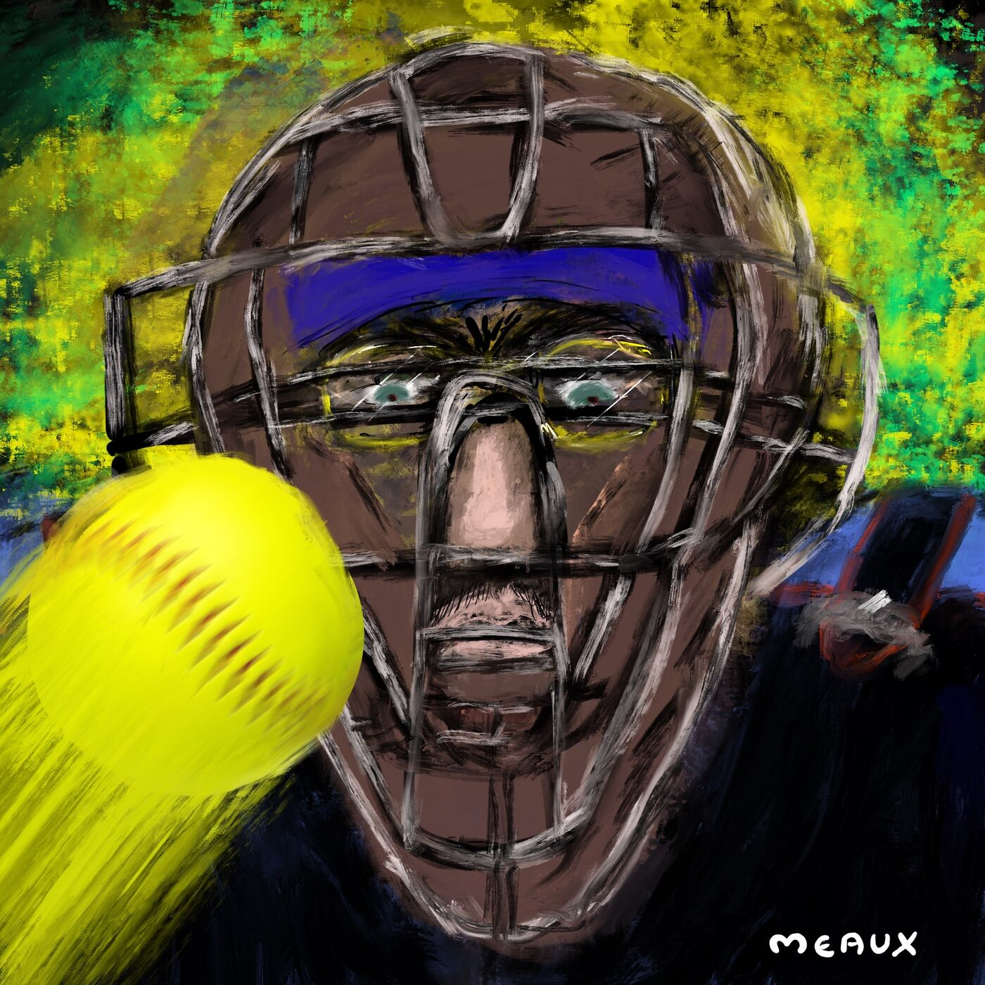 The Man in the Iron Mask - The Memories of a Girl's Softball League Umpire