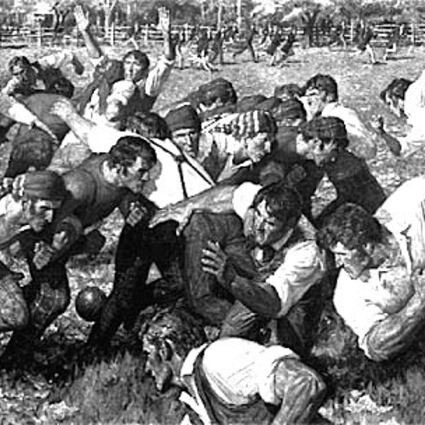 5/11/2018: Of Scrums and Scrotums: Pre-Petrie Pigskin on the Plains