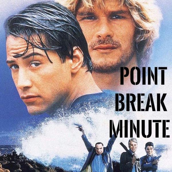 Point Break Minute Podcast Artwork Image