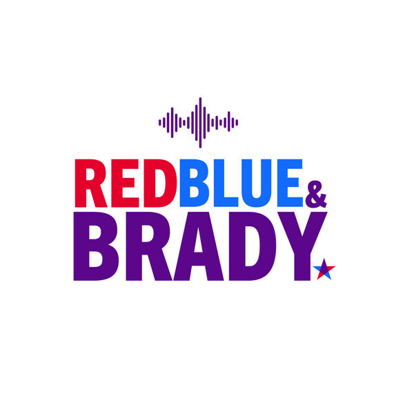 Red, Blue, and Brady  Podcast Artwork Image