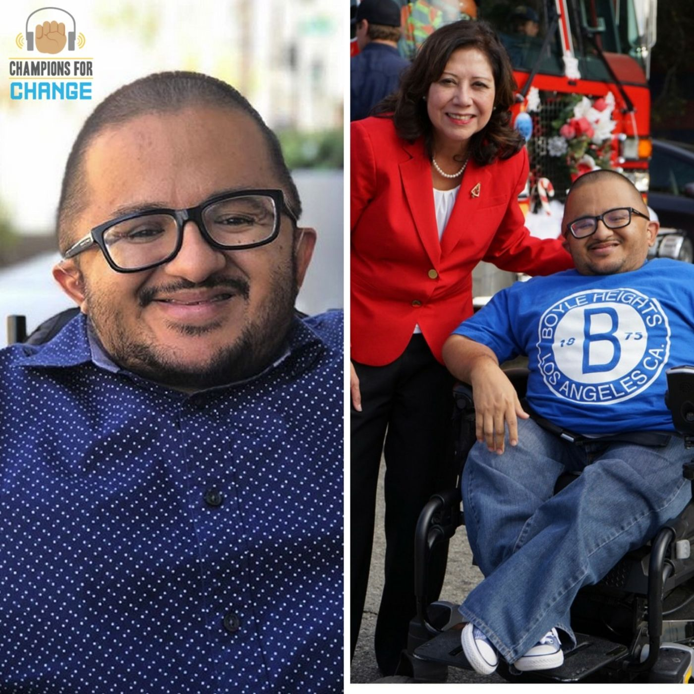 Podcast #3 - Champions for Change - Hector Ochoa