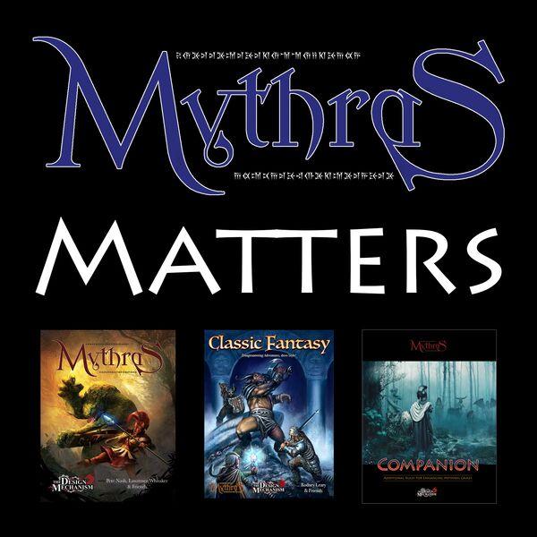 Mythras Matters Podcast Artwork Image