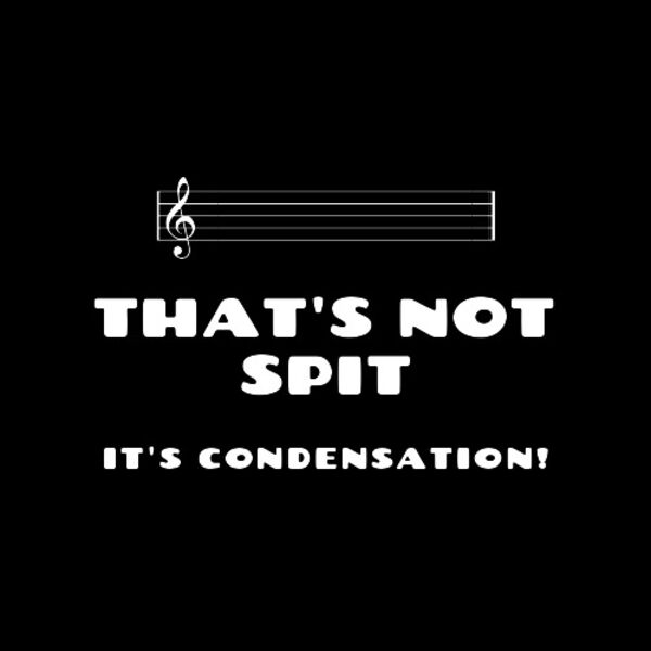 That's Not Spit, It's Condensation! Podcast Artwork Image