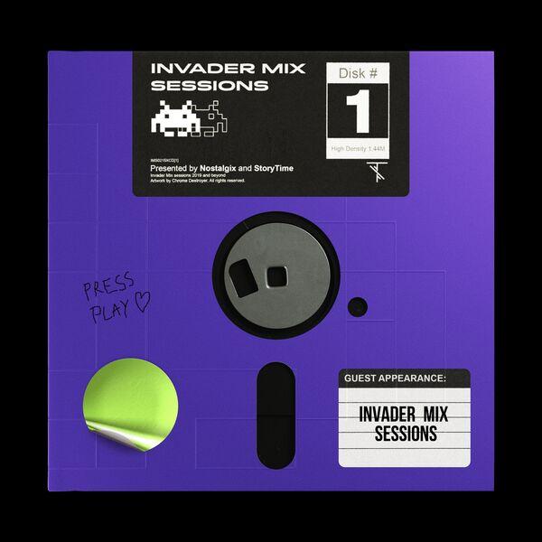 Nostalgix Presents: Invader Mix Sessions Podcast Artwork Image