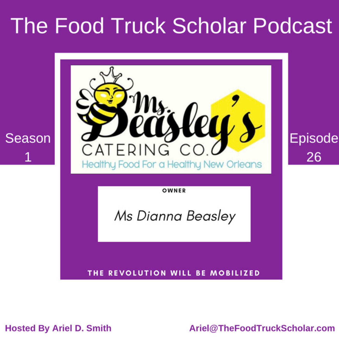 Ms Dianna Beasley: Ms Beasley's Catering