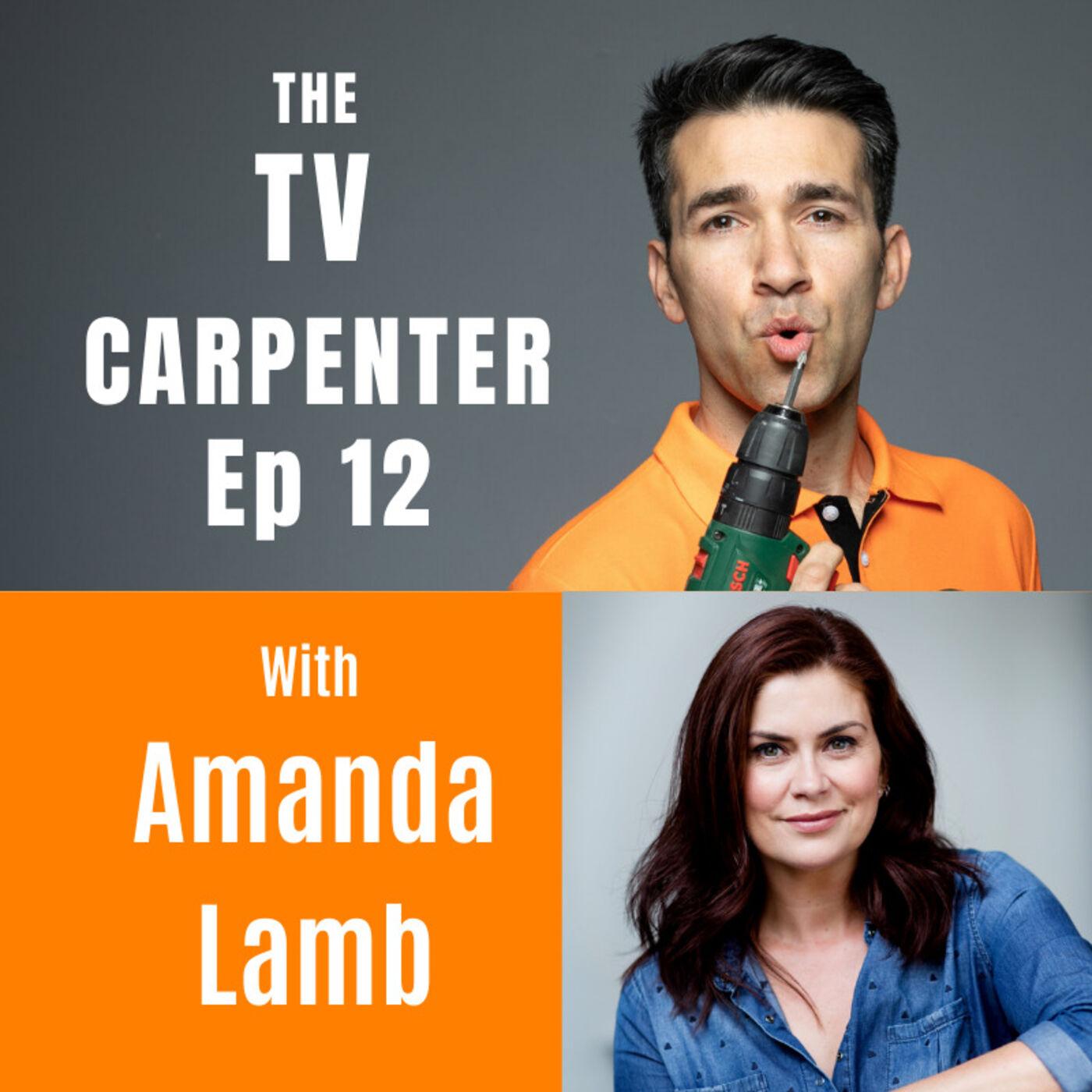 Wayne Chats with Amanda Lamb property expert and TV presenter