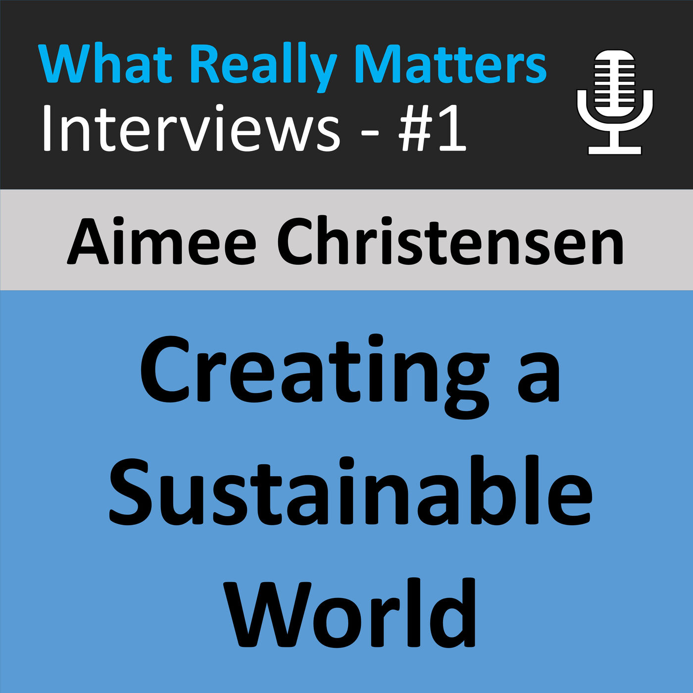 WRMI 001 - Inside Aimee Christensen: An Extraordinary Woman Helping to Create a Sustainable World
