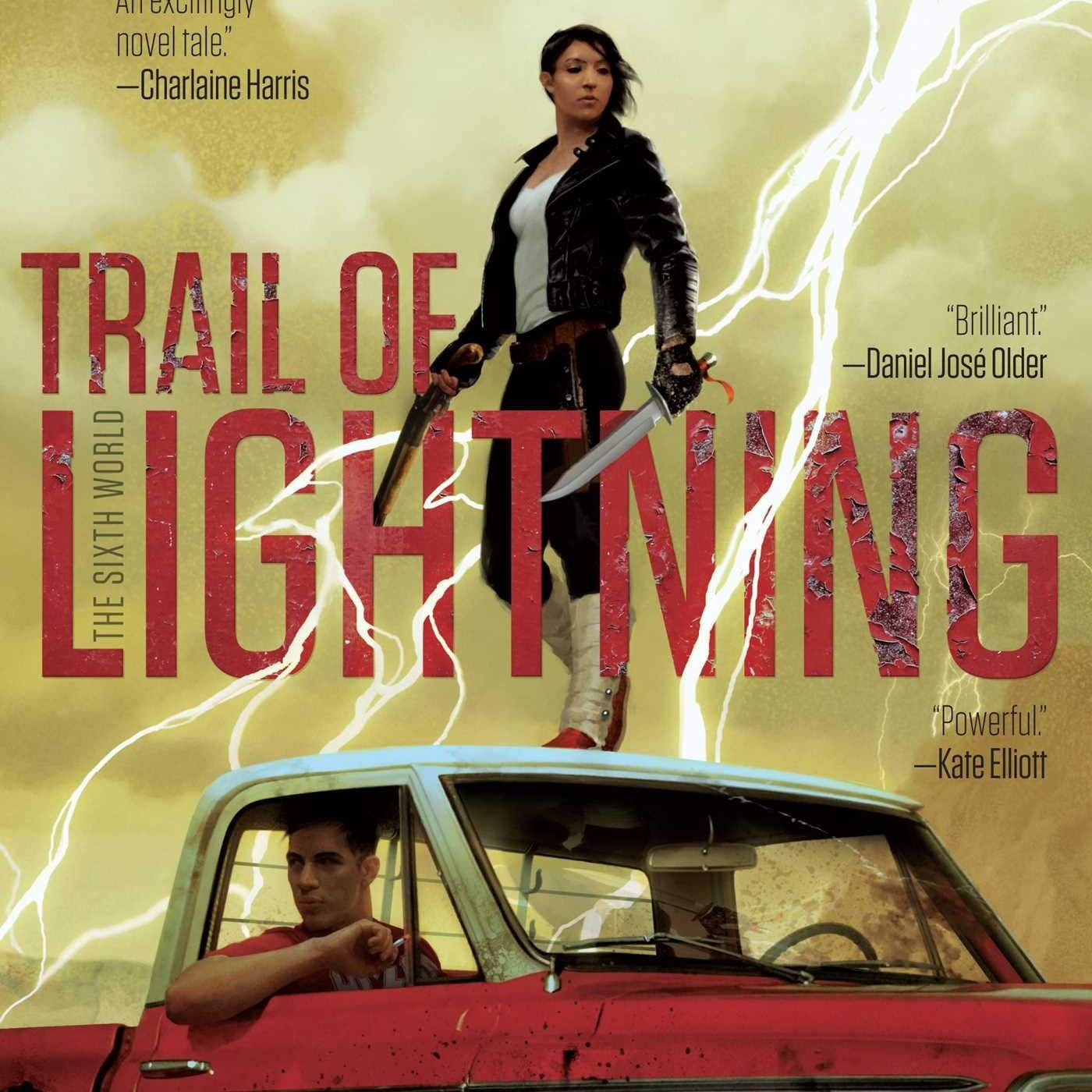 Book-Space! #11. Trail of Lightning by Rebecca Roanhorse