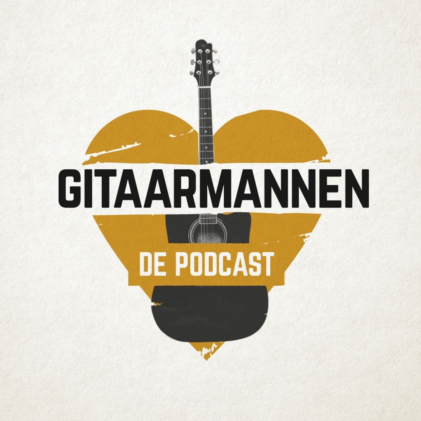 Gitaarmannen, de podcast logo