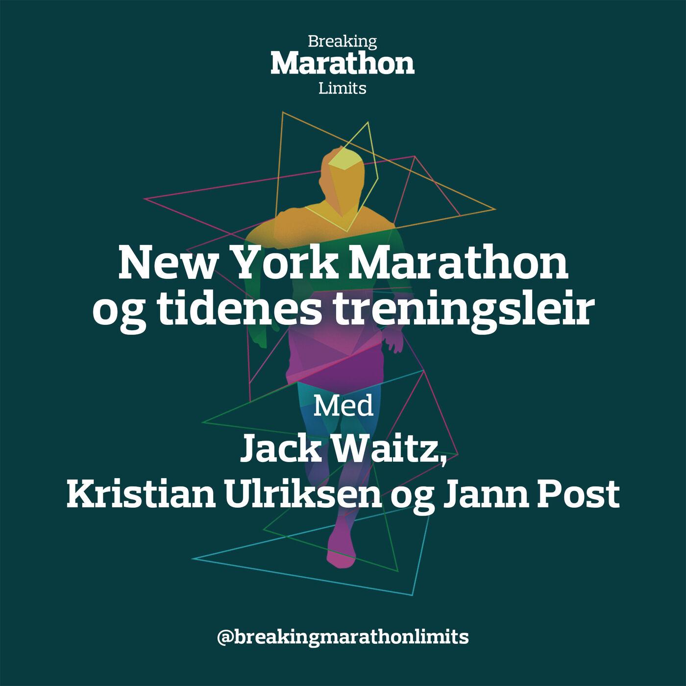 New York Marathon og tidenes treningsleir