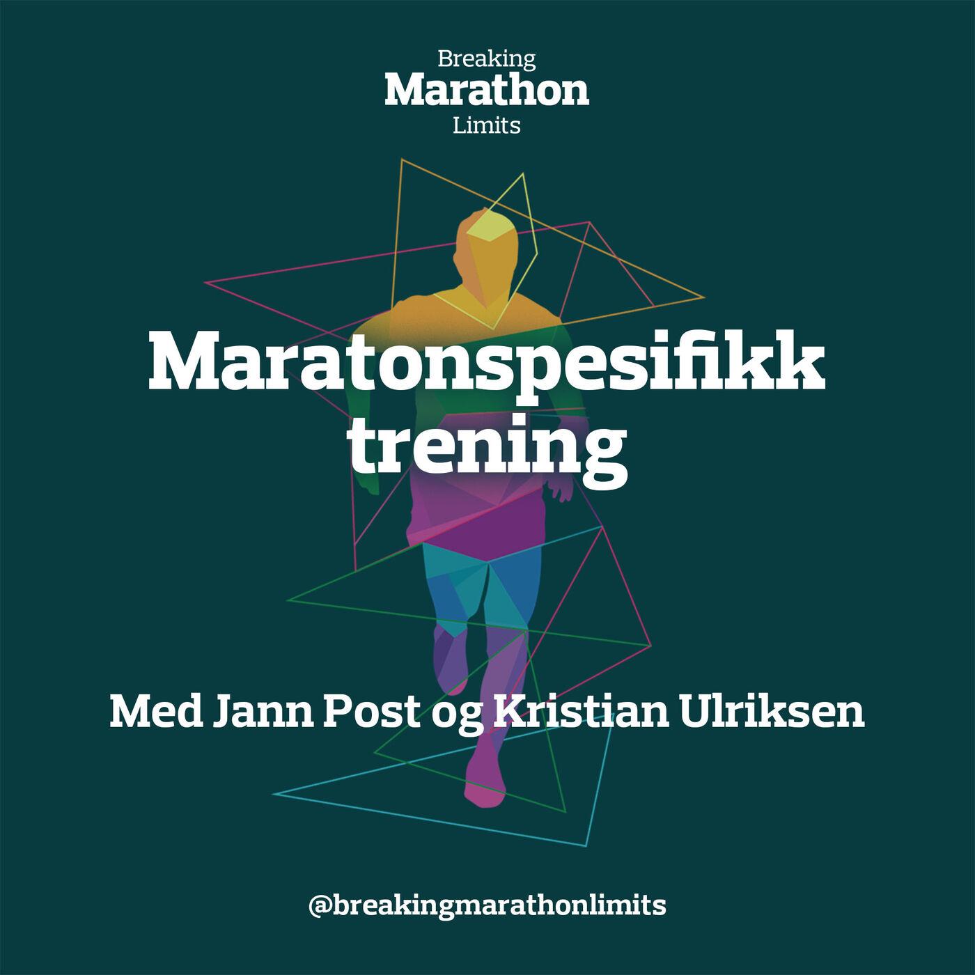 Maratonspesifikk trening