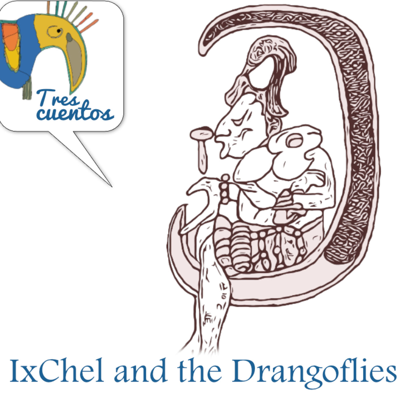 6- Myths of Love and Hate - IxChel and the Dragonflies - Maya/Guatemala