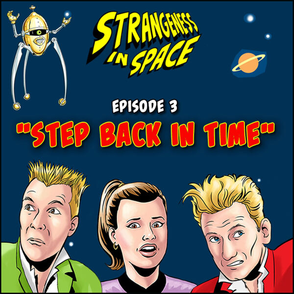 Strangeness in Space Podcast Artwork Image