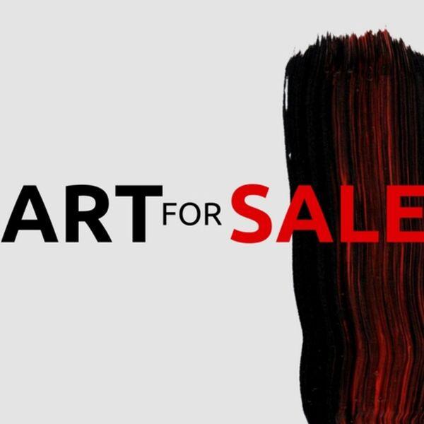 Art For Sale Podcast Artwork Image
