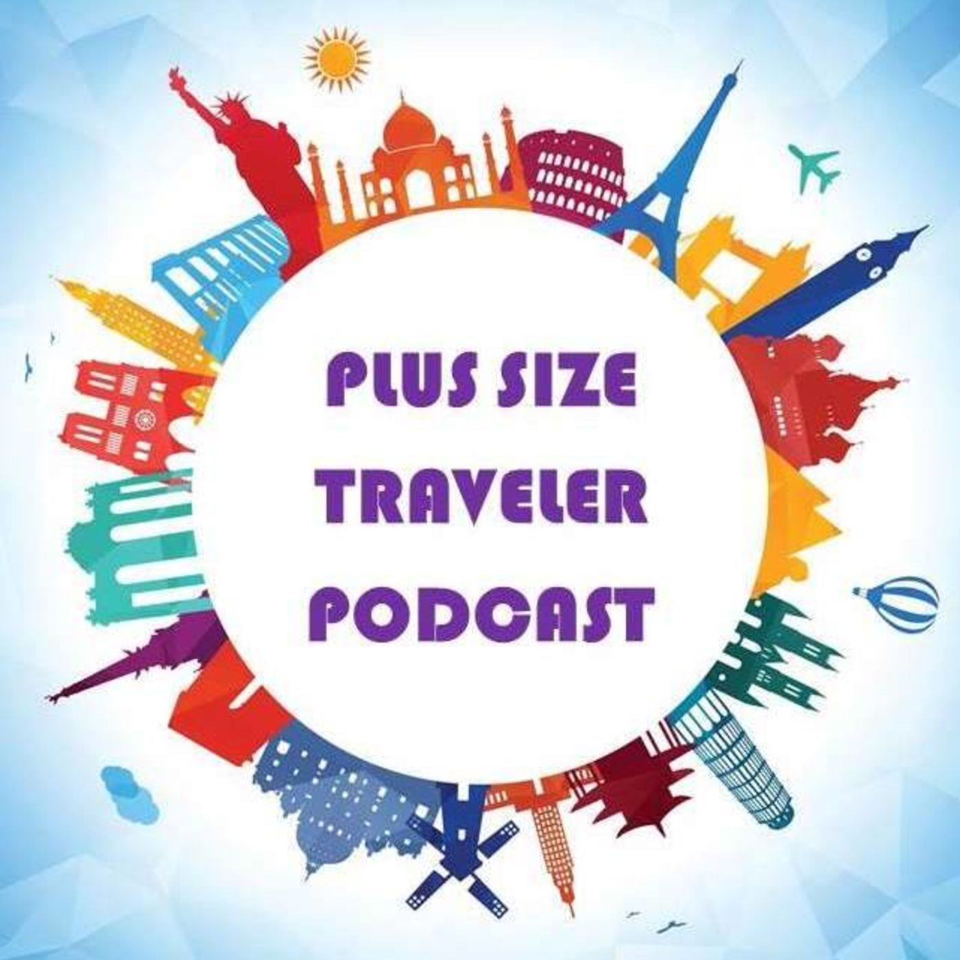 Plus Size Traveler Podcast: London, England, Airplane Seats and Introductions