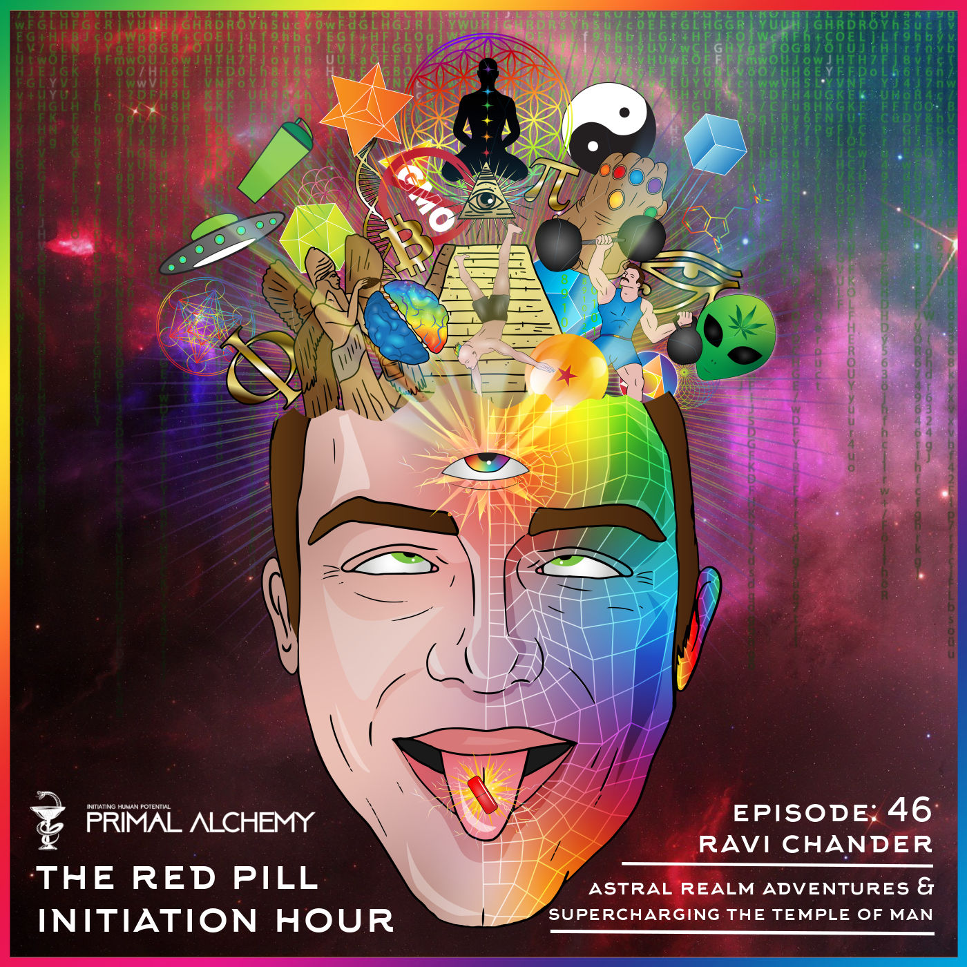 Ep 46 - Ravi Chander - Astral Realm Adventures & Supercharging the Temple of Man
