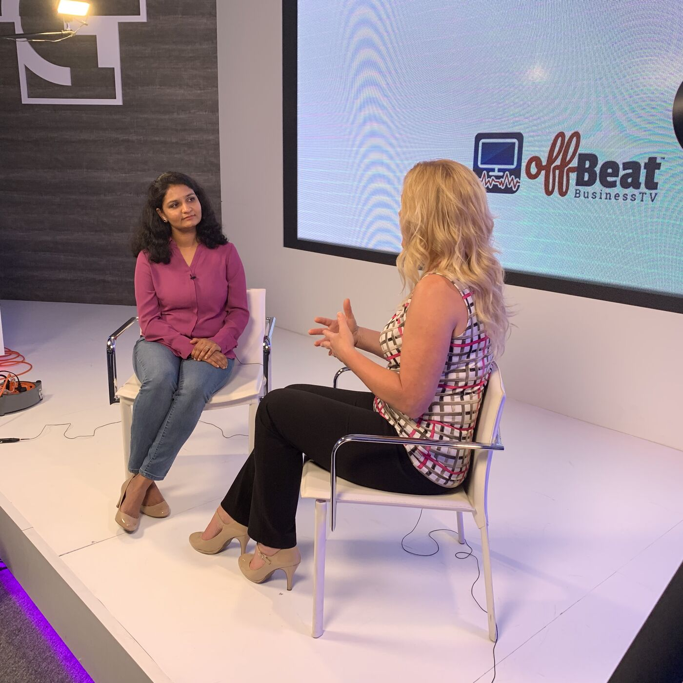 Parimala Deshpande with Hustle Girl Podcast on The OffBeat Business Show