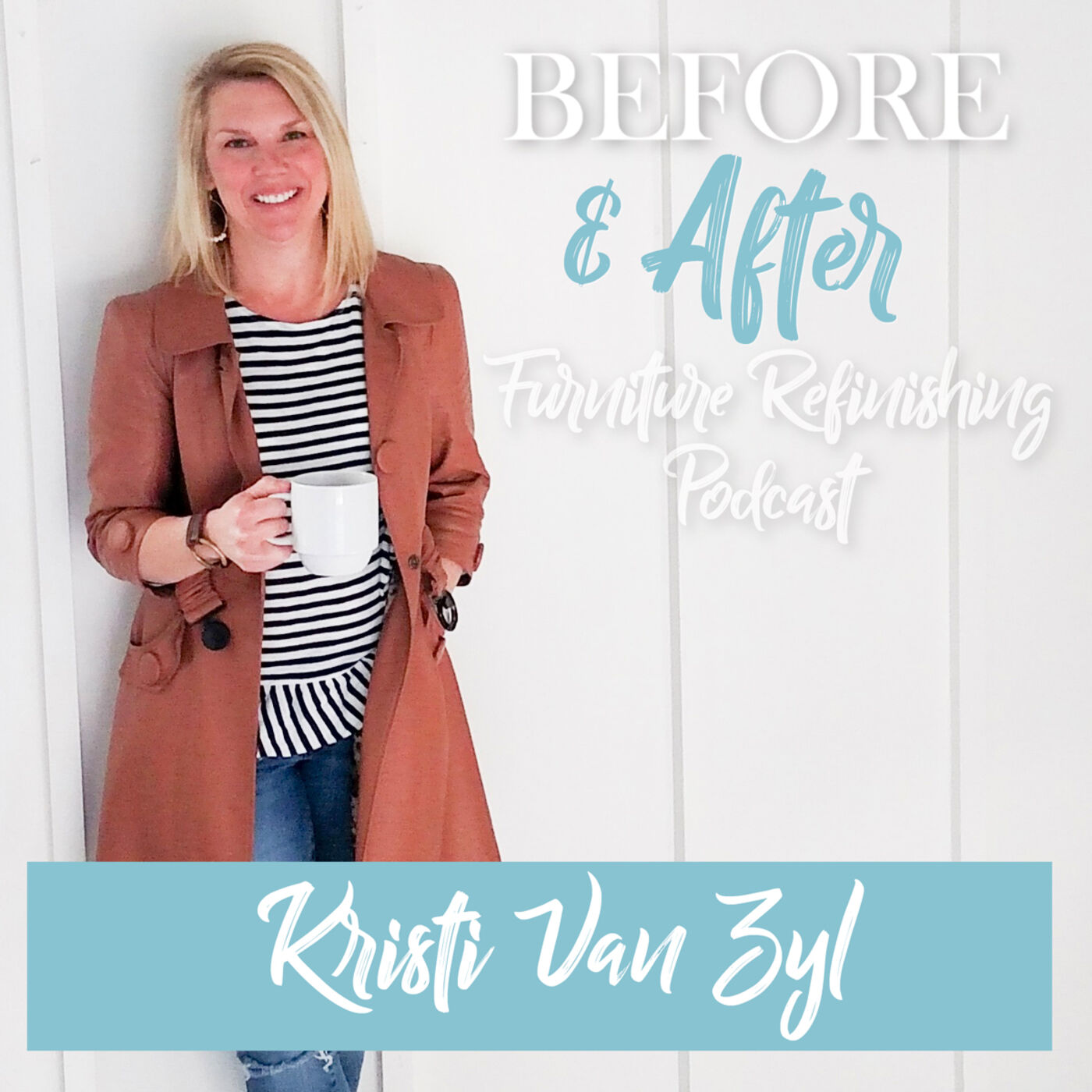 How to choose the right type of paint for your furniture refinishing projects: An interview with Kristi Van Zyl of Chalk It Up, LLC.
