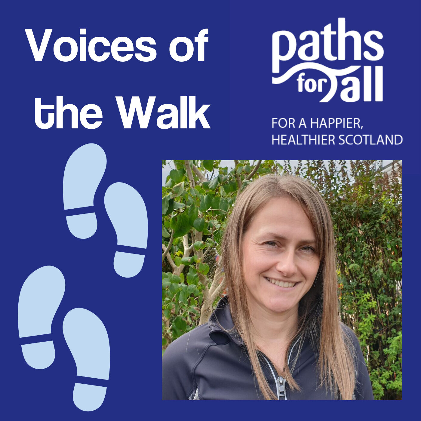 Gillian Craig: Paths for All's Community Path Volunteer of the Year