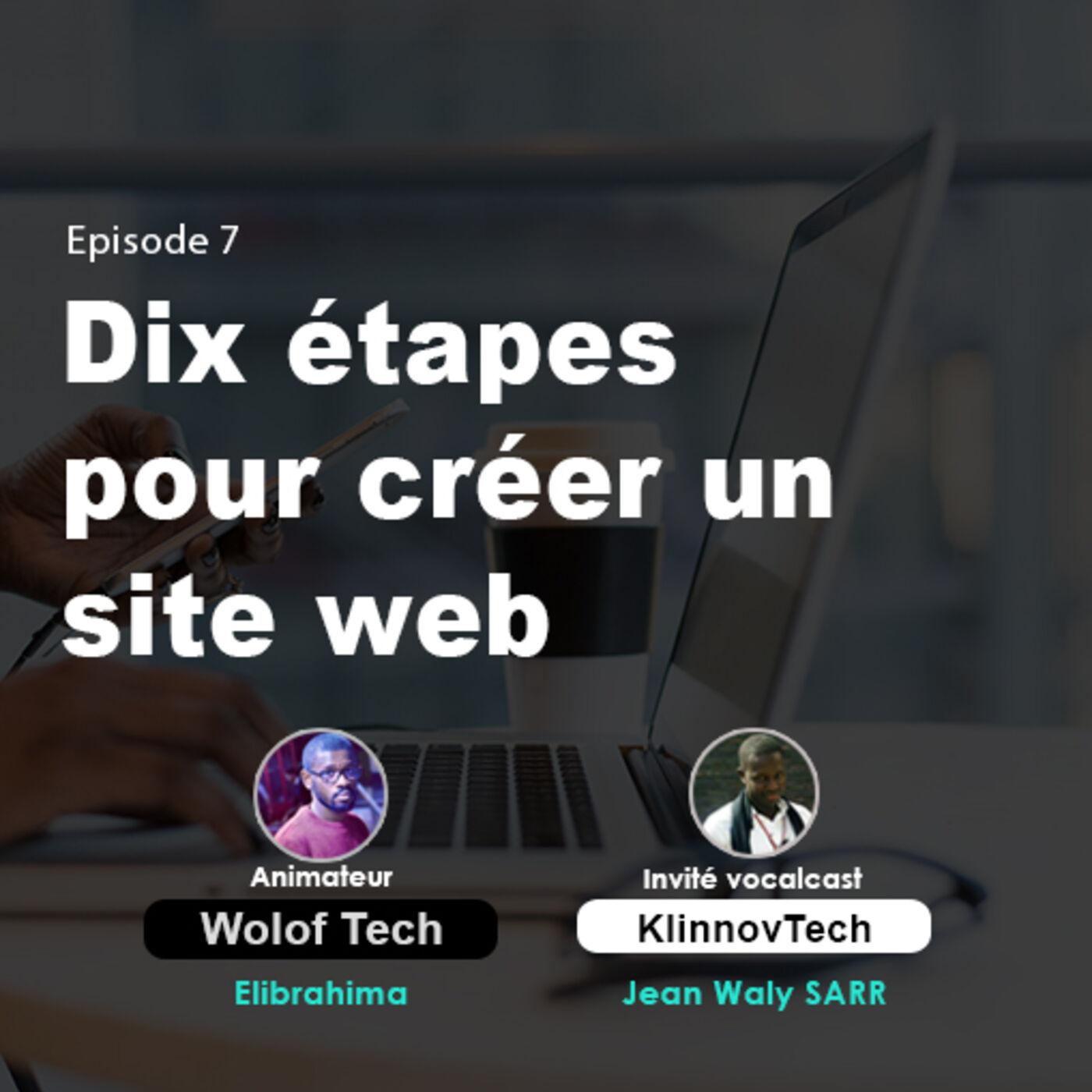 Dix étapes pour créer un site web