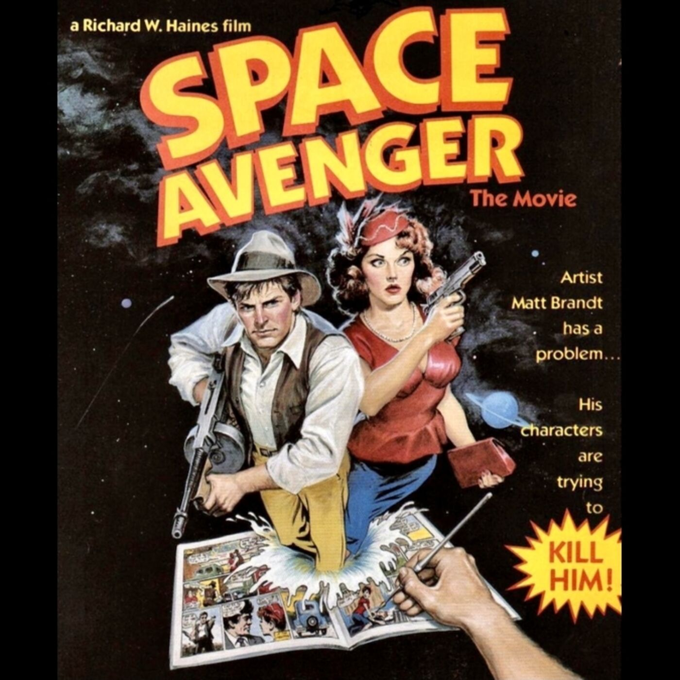 Alien Space Avenger / Technicolor Movies: The History of Dye Transfer Printing