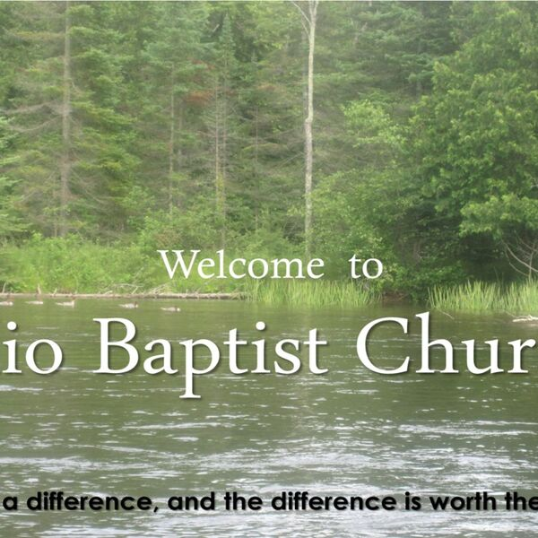 Mio Baptist Church's Podcast Podcast Artwork Image