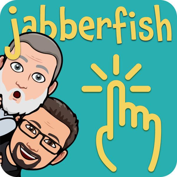 """JABBERFISH - Die """"irgendwas mit Medien-Challenge"""" mit Haeme Ulrich + Bernd Zipper Podcast Artwork Image"""