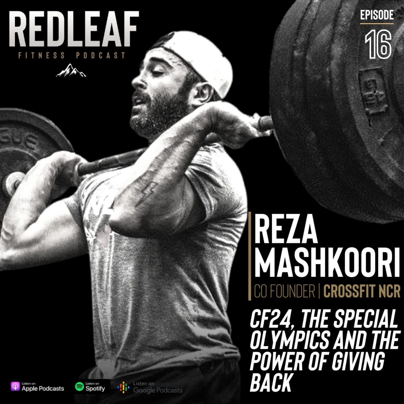 Ep.16 | Reza  Mashkoori, Co-Founder CrossFit NCR, talking about CF24, The Special Olympics and the power of giving back