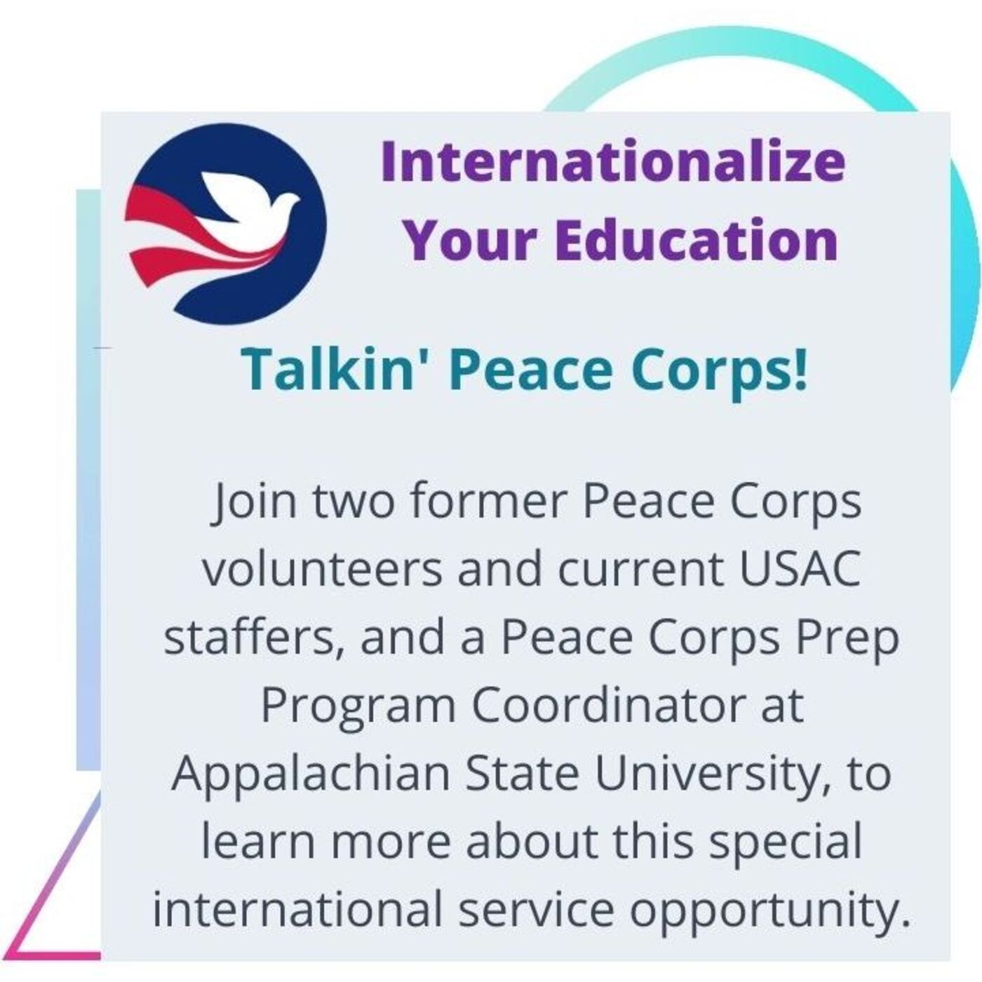 Season 2 - #5: Internationalize Your Education Through a Peace Corps Volunteer Experience