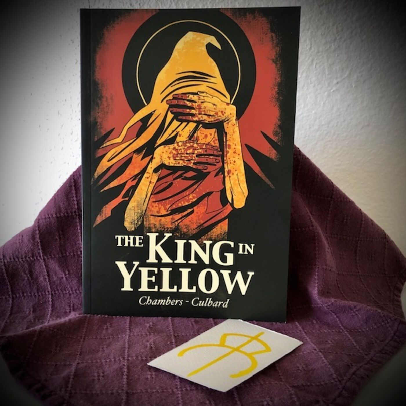 HPLCP Fragments - Ep 12 - I. N. J. Culbard's The King in Yellow