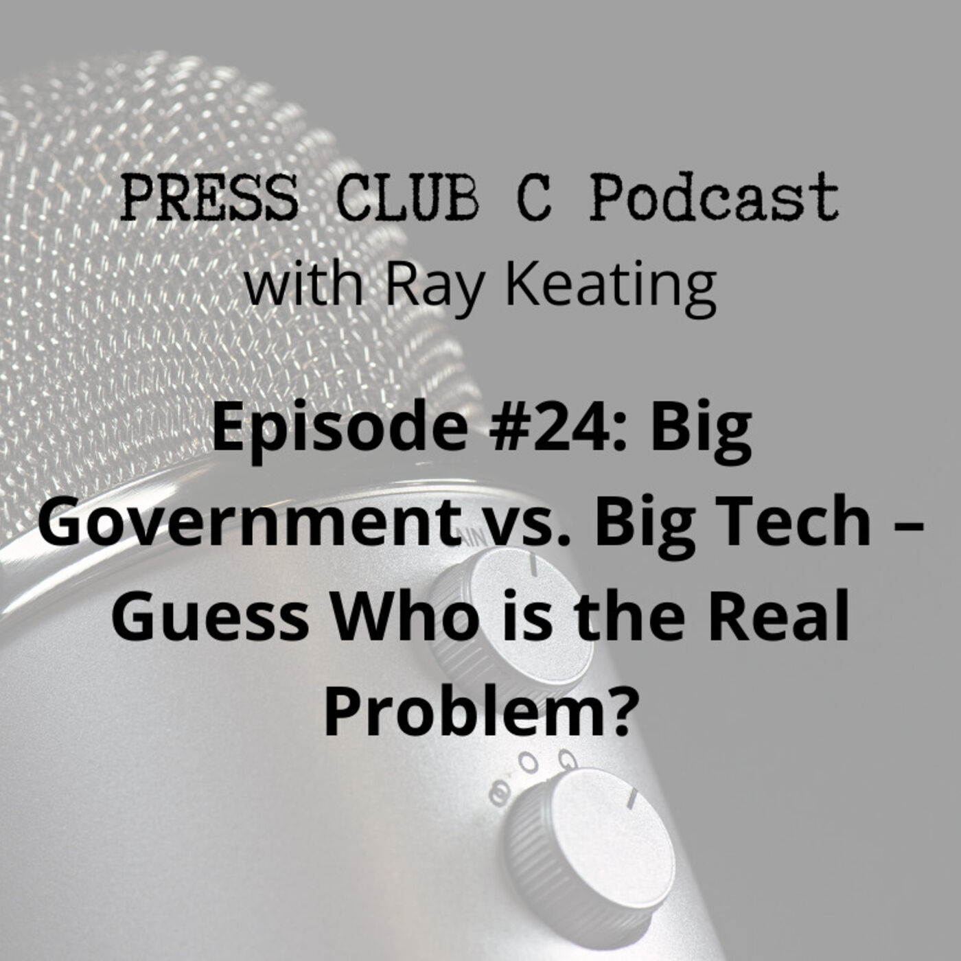 Episode #24: Big Government vs. Big Tech – Guess Who is the Real Problem?