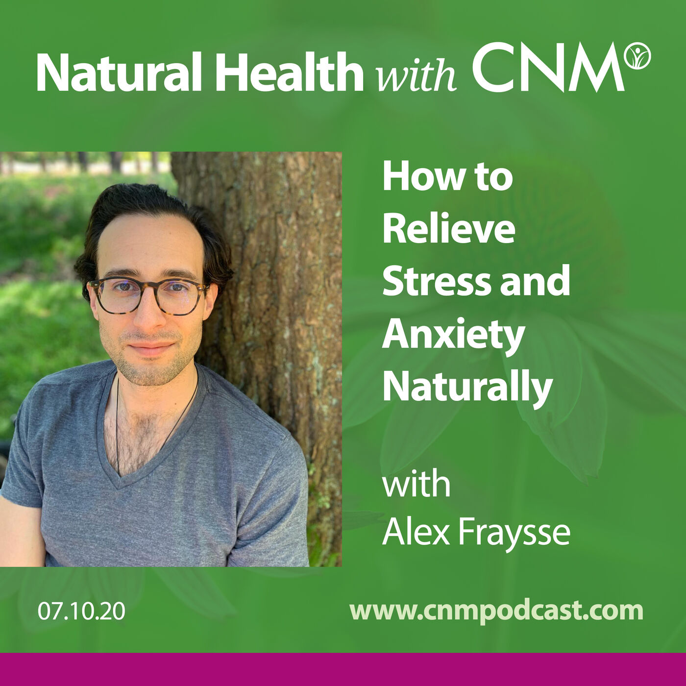 How to Relieve Stress & Anxiety Naturally with Alex Fraysse