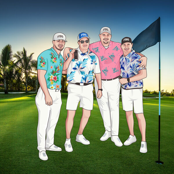 Four Bogeys Golf Podcast Artwork Image