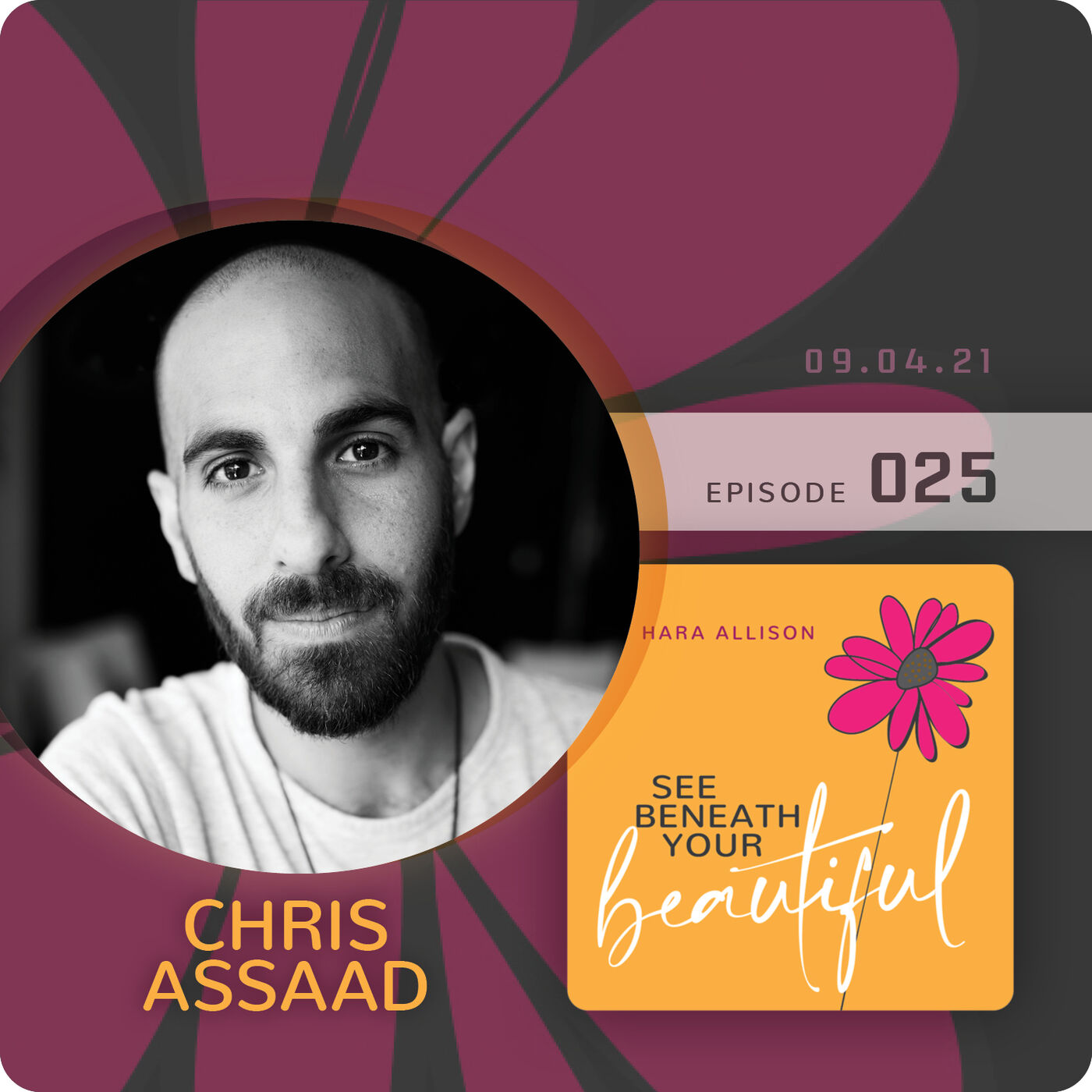 025. Chris Assaad discusses being an artist; inviting people to give themselves permission to use their voice and to let it flow; standing in his boldness; evolving through his art; and the importance of play
