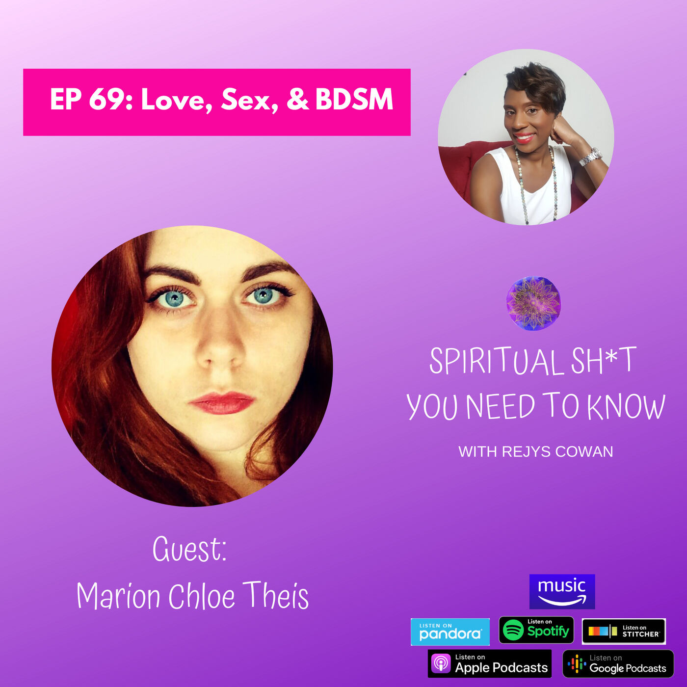 069: Love, Sex, and BDSM with Marion Chloé Theis