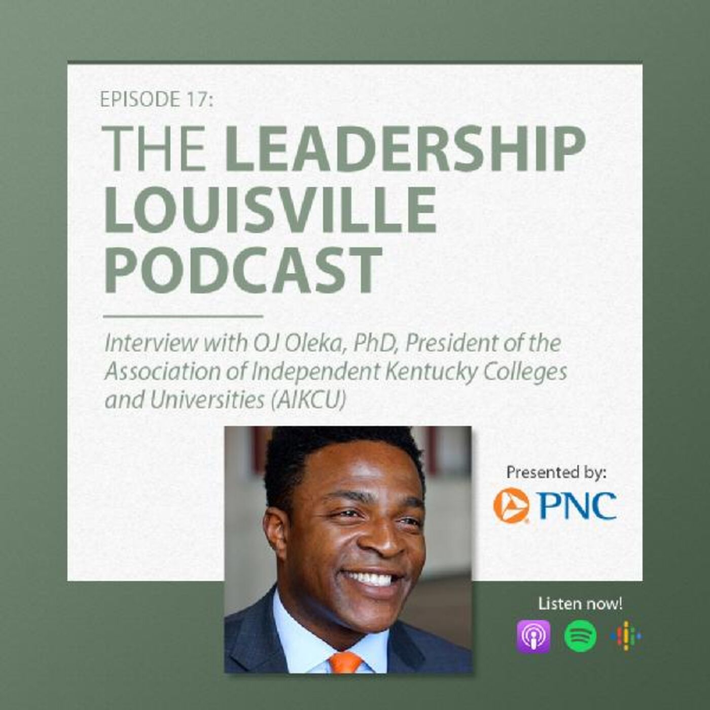 On raising people out of poverty with Dr. OJ Oleka, President of AIKCU