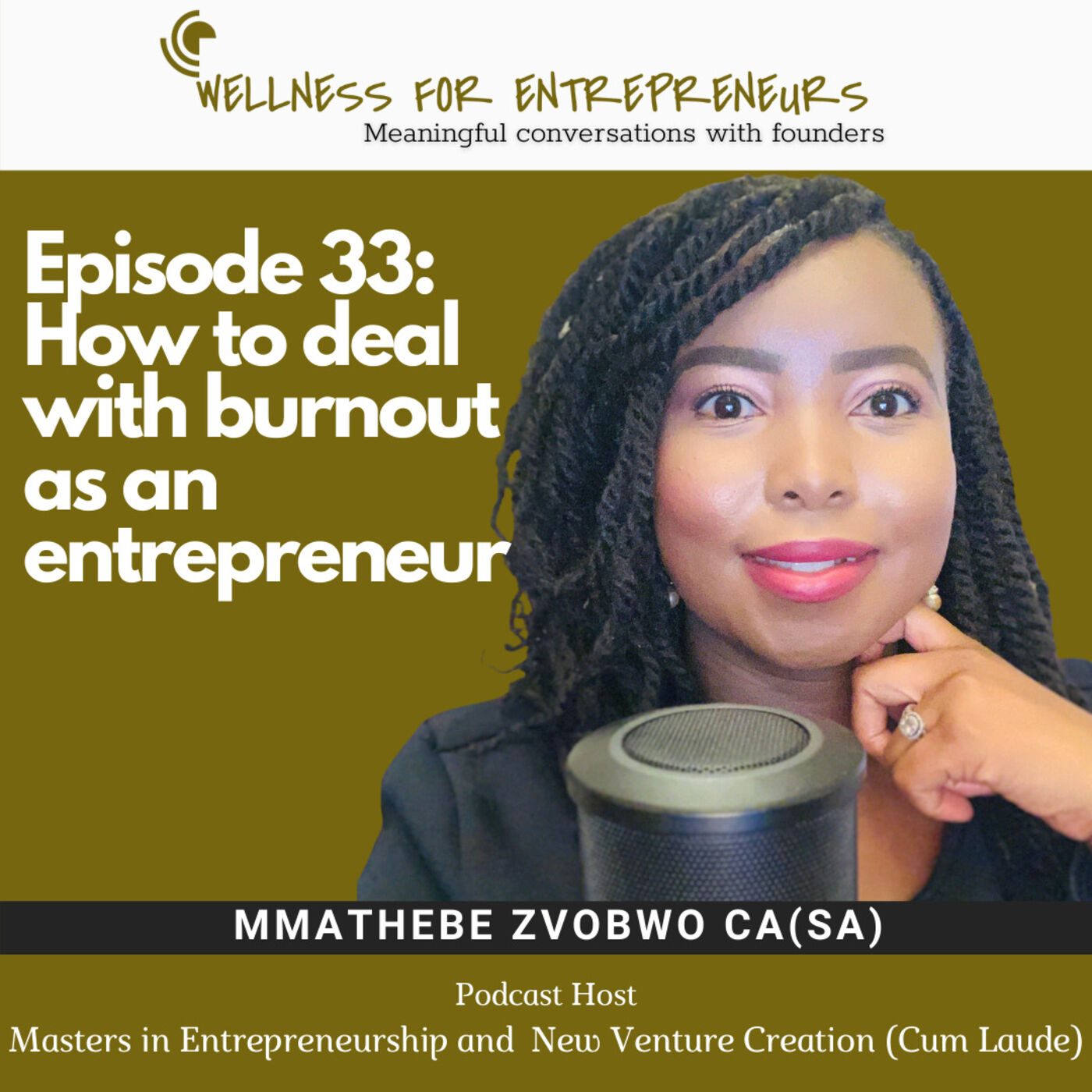 Episode 33: How to deal with burnout as an entrepreneur
