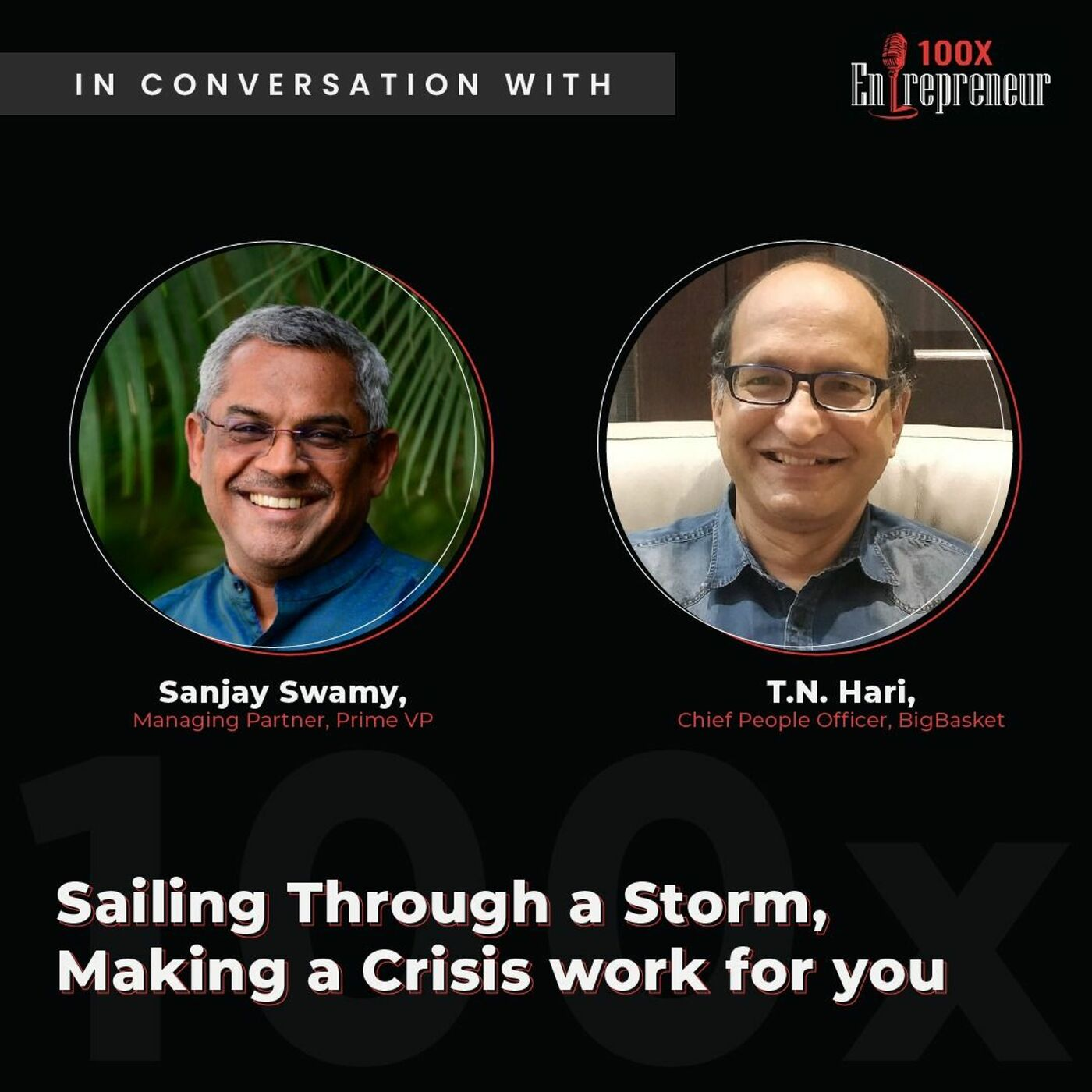 Making a crisis work for you with Sanjay Swamy & T. N. Hari